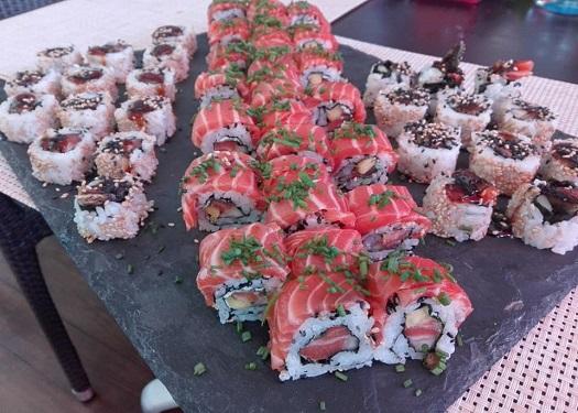 Sushi Peixe Cru